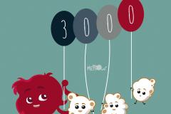 3000 fan