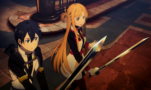kirito-and-asuna-both-prepare-for-an-ar-battle-in-sword-art-online-ordinal-scale