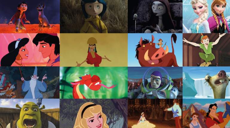 quiz film Disney