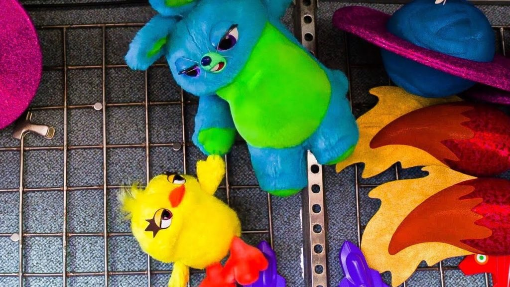 Toy Story 4 Ducky e Bunny
