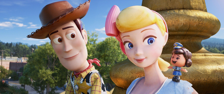 Toy Story 4 Woody con Bo Peep