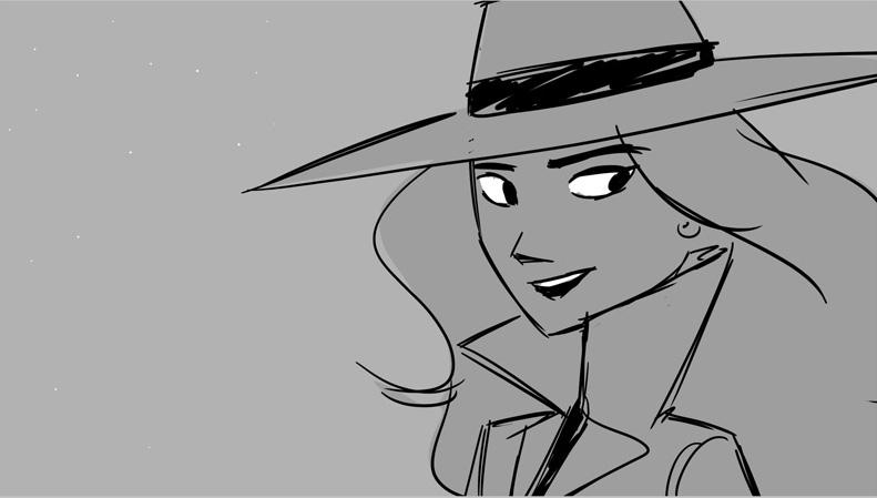 storyboard Carmen Sandiego